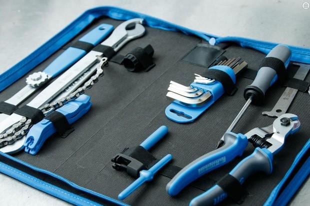 Unior's new 1600A7 20-piece bike tool set