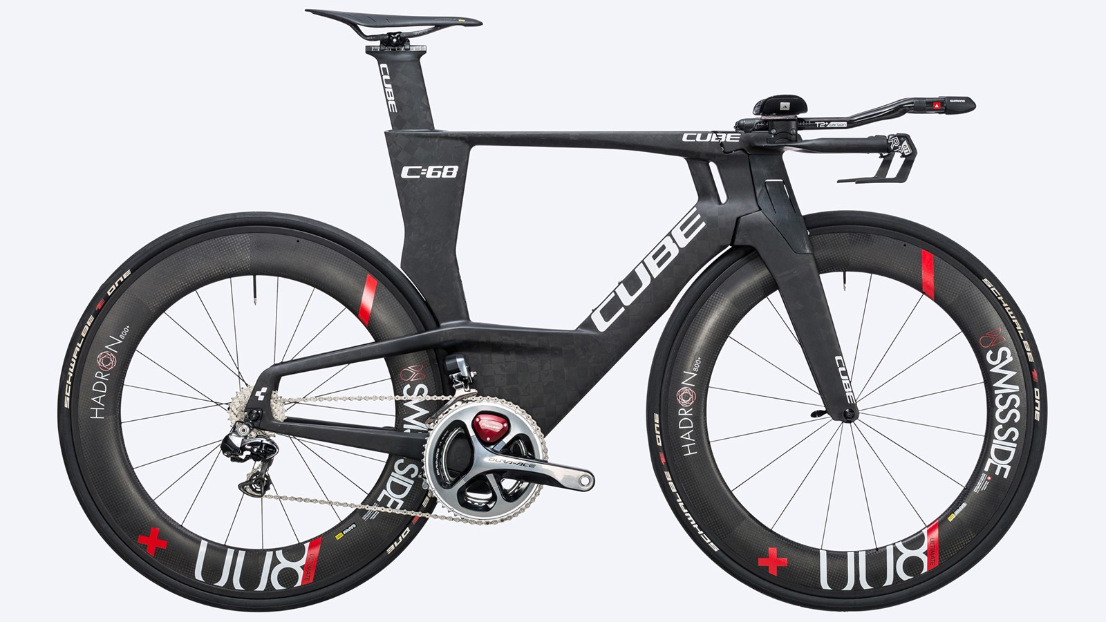 It's plausible that, at a distance, the profile of this bike could be mistaken for a B-2 bomber
