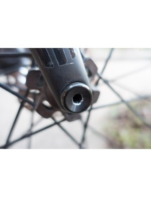 ENVE's thru-axle was the only gripe I had with the bike
