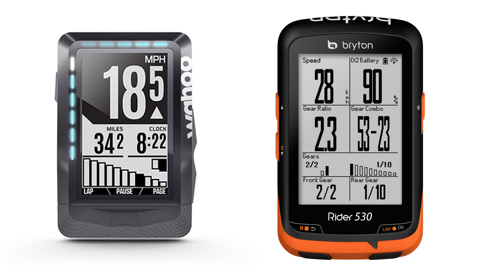Wahoo and Bryton have just announced wireless integration to EPS and Di2 drivetrains