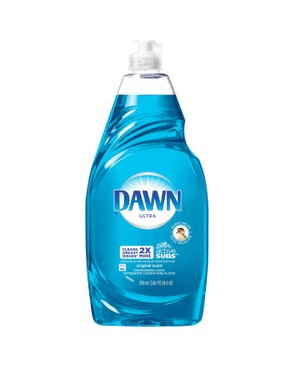 Washing up liquid is a fantastic degreaser