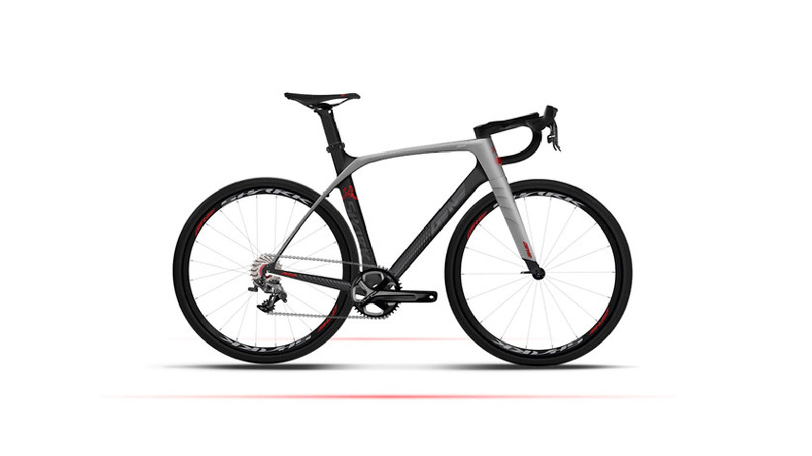 The Smart Road Bike sees a full carbon frame and finishing kit, 1x11 drivetrain and integrated 'BikeOS'