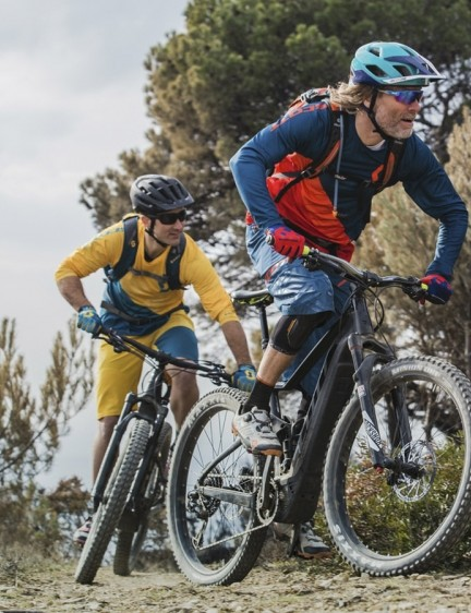 Scott's new E-Spark Plus features 27.5+ wheels and tires
