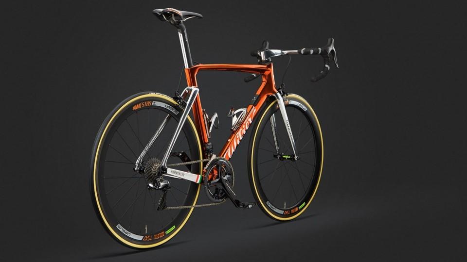 4c5b40c9c42 Wilier celebrates the Giro with copper plated race bike - BikeRadar