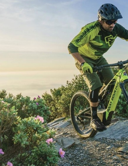 Rocky Mountain's new e-MTB the Altitude Powerplay sees a proprietary drive system, 160mm front, 150mm rear travel and 27.5 wheels and tires
