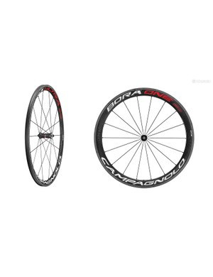 Campagnolo has updated its Bora One and Bora Ultra carbon clinchers and tubulars with a new brake track