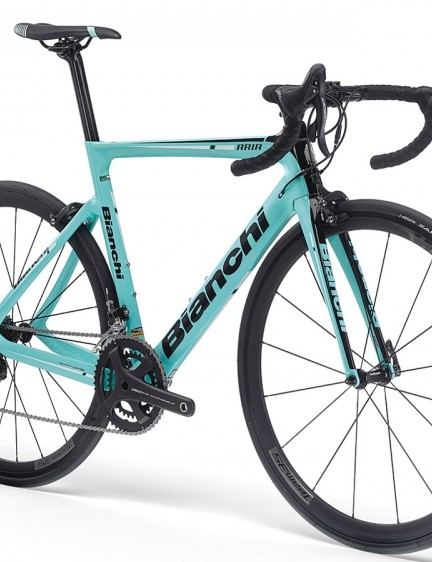 The Aria is Bianchi's new entry level aero road bike