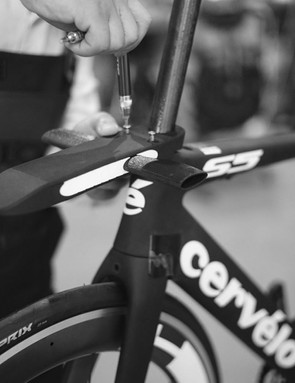 Aero Design Swiss has come up with an adjustable length stem