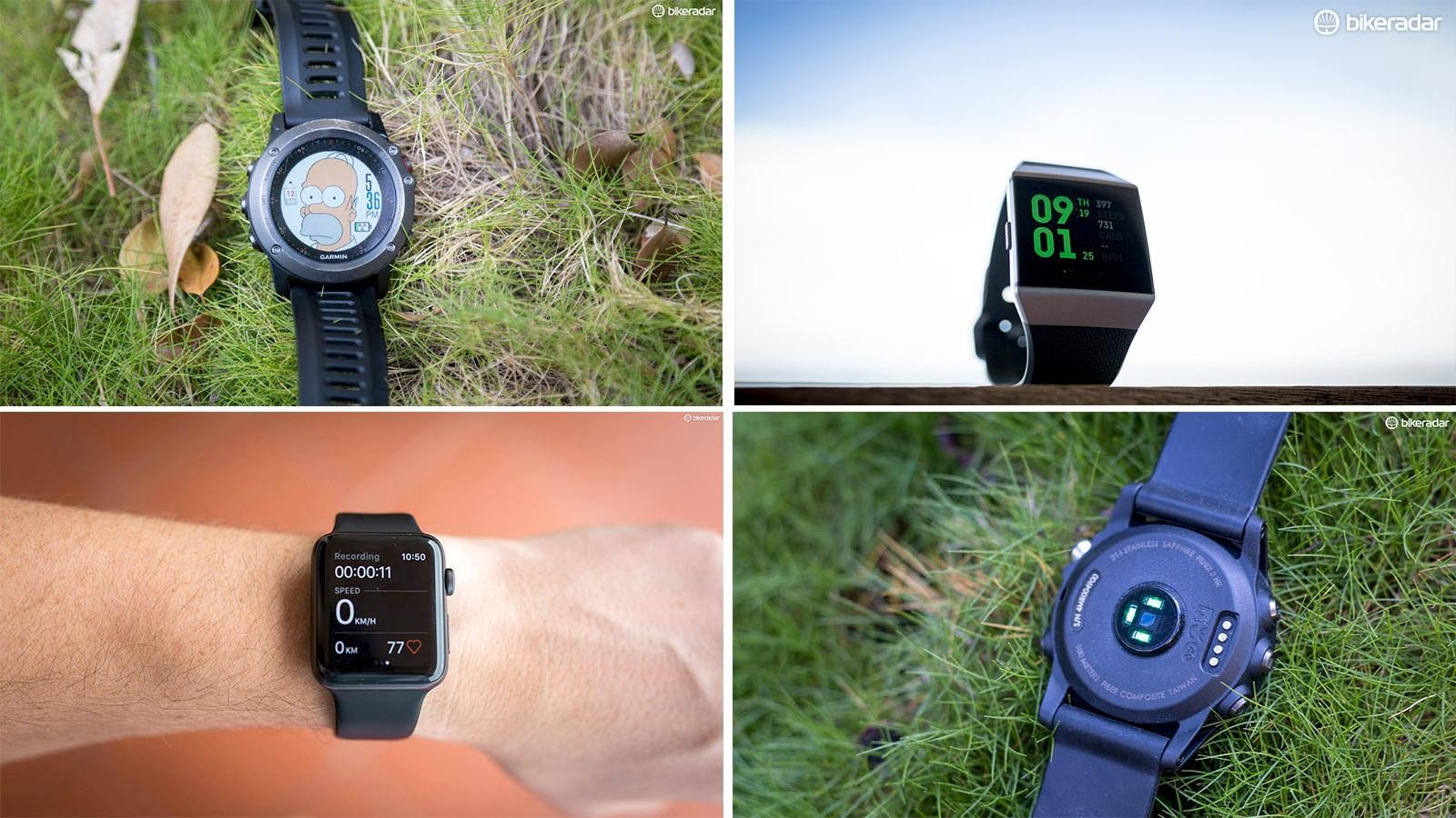 GPS watches are becoming pretty powerful and rival some head units with their functionality