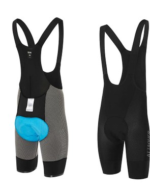 The chamois sits both on the inside and outside of the shorts and is completely waterproof
