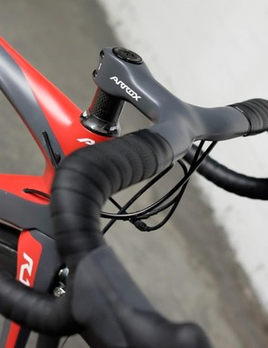 Every R-Series complete bike is equipped with the company's own-brand integrated bar/stem