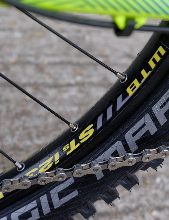 WTB STi23 rims are optimised for going tubeless