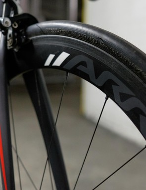 The 50mm carbon clincher wheels used on each Arrox build are available separately for £1,190