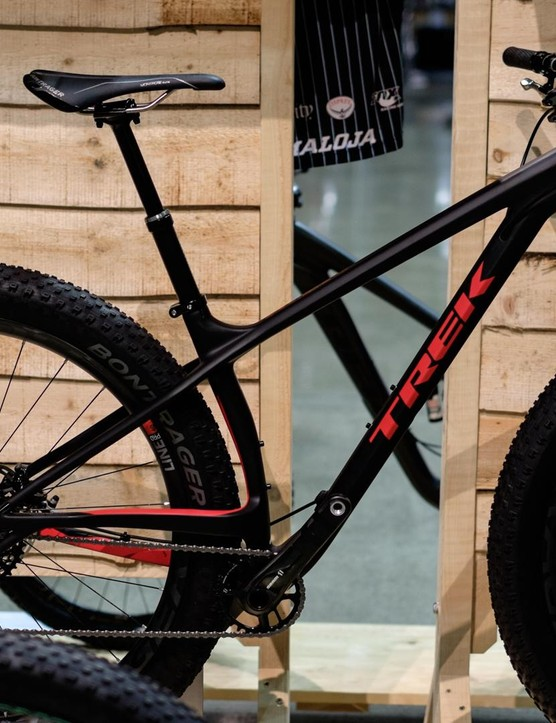 The Trek Stache is now available with a carbon frame