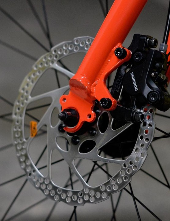 Shimano's more affordable hydraulic discs are still a sound choice