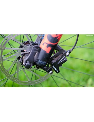 SRAM's OE Level T brakes lack the adjustment of some of its rivals