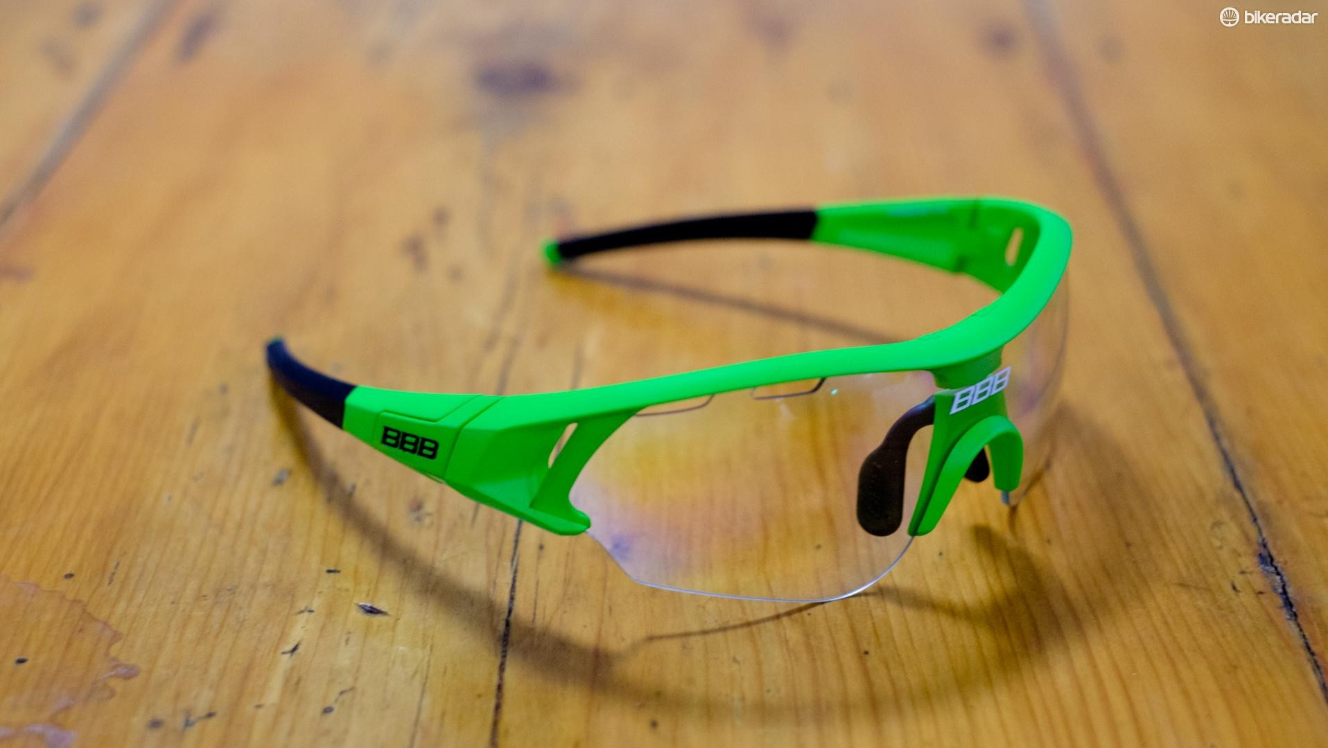 Clear lenses for riding in the darker months