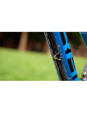 Mondraker's no-fuss approach to external cable routing works a treat