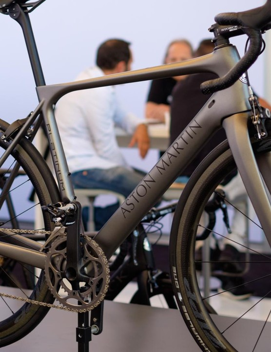 Just 77 examples of Storck's limited edition Aston Martin road bike will be produced