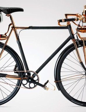 The Williamson Goods Wheelman comes in three colours and three sizes, though if you ask they'll make it to your 'exact specifications'
