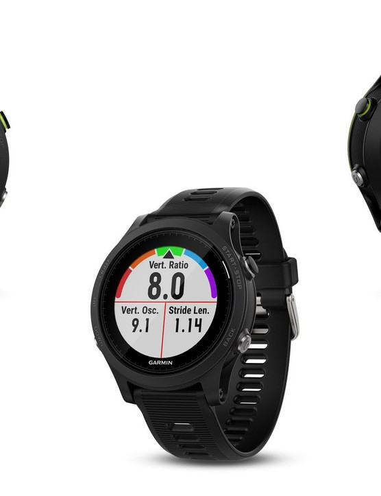 The Forerunner 935 gets wrist-based heart rate, support for Bluetooth sensors and built-in ABC sensors