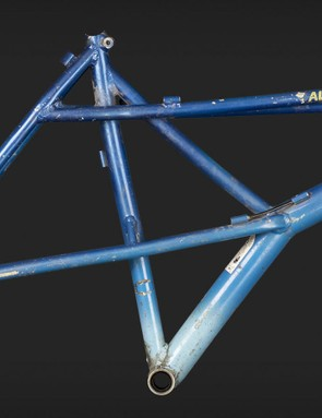 The original XYZ was released back in the eighties and featured dual top tubes, raised chainstays and way more than two triangles