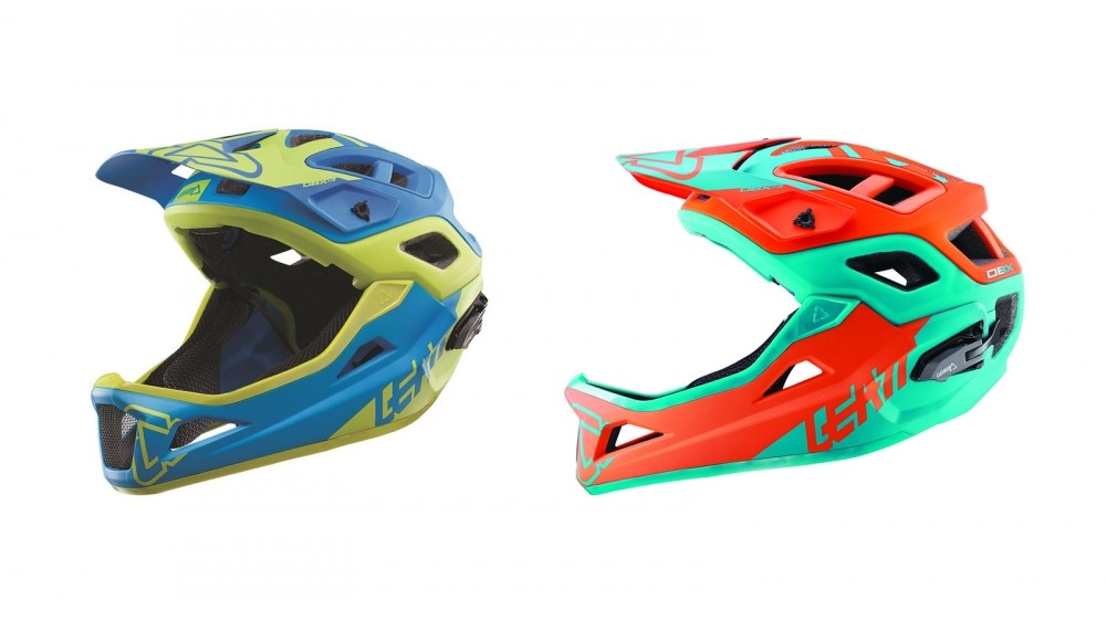 The Enduro is almost identical to the All Mountain lid, bar the detachable chin bar