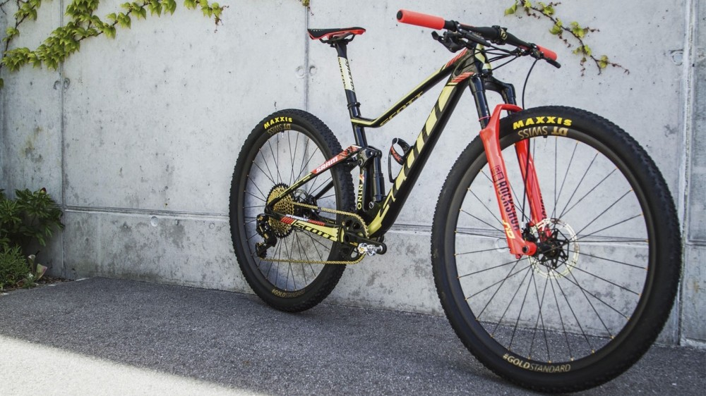 A bike fit for the world's fastest cross-country rider