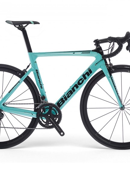 Bianchi say it takes design cues from the Oltra and Aquila CV