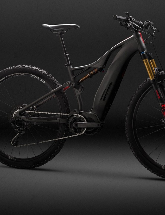 The Wild FS is a 140mm pedal assisted trail bike