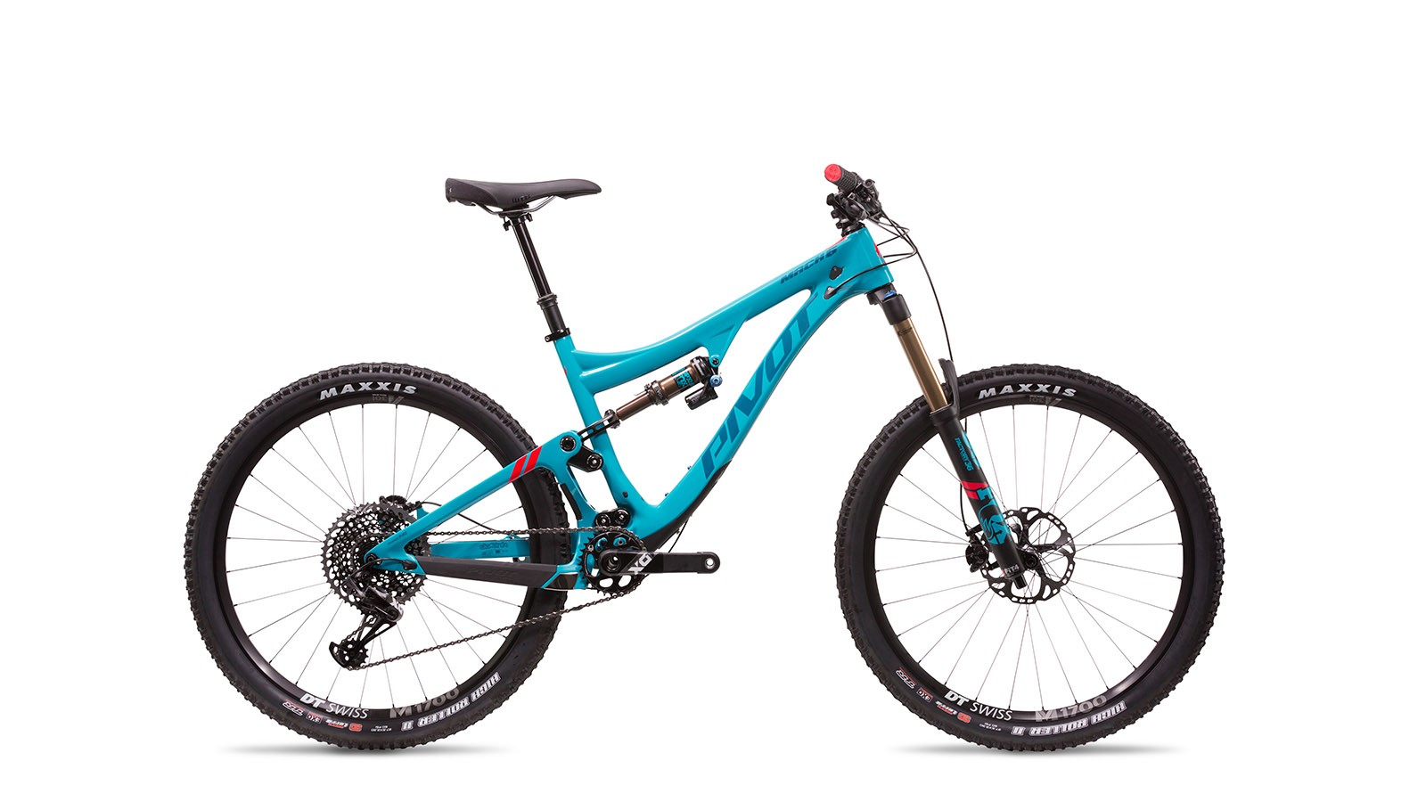 The carbon version sees internal cabel routing, bash guards and a FOX Factory Kashima Float DPX2 rear shock