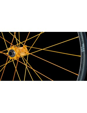 The hubs and spokes can be fully customised through the brands Ano Lab program