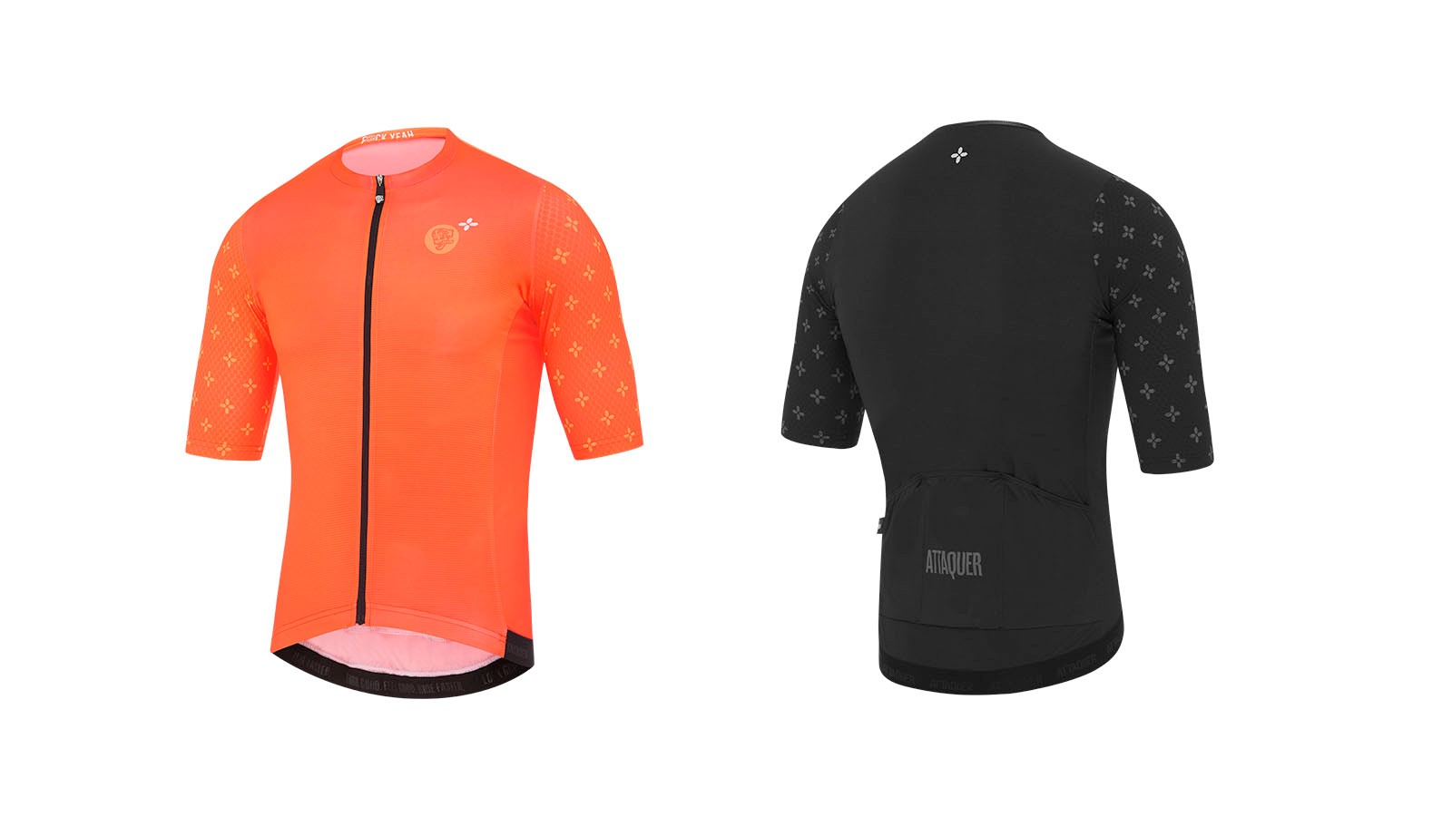 The jersey is said to help reduce the drag caused by the rider's body