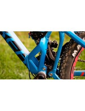 Although similar aesthetically to previous versions, the frame is all-new for 2017