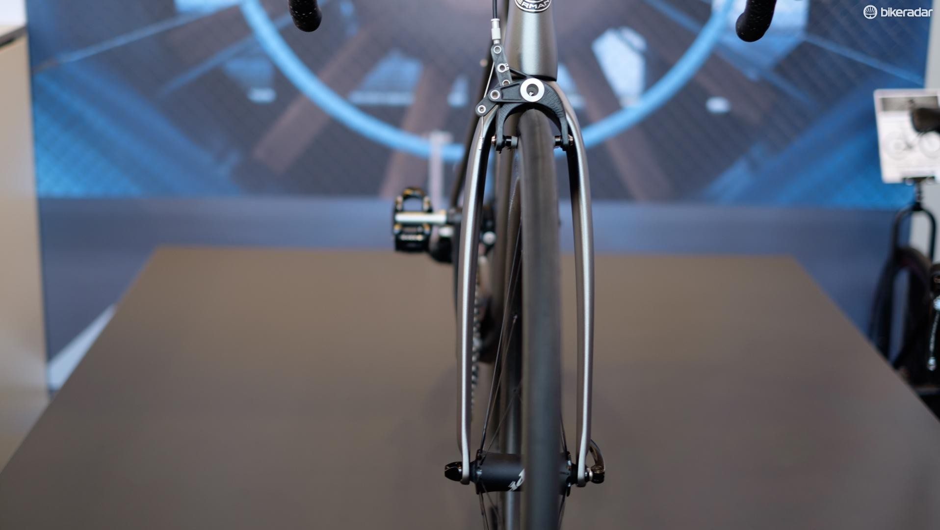 Storck's distinctive bow-legged fork is designed to minimise drag