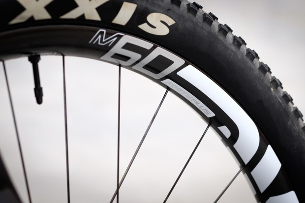 We had a sneaky peek at the new M60 Forty, plus sized rims