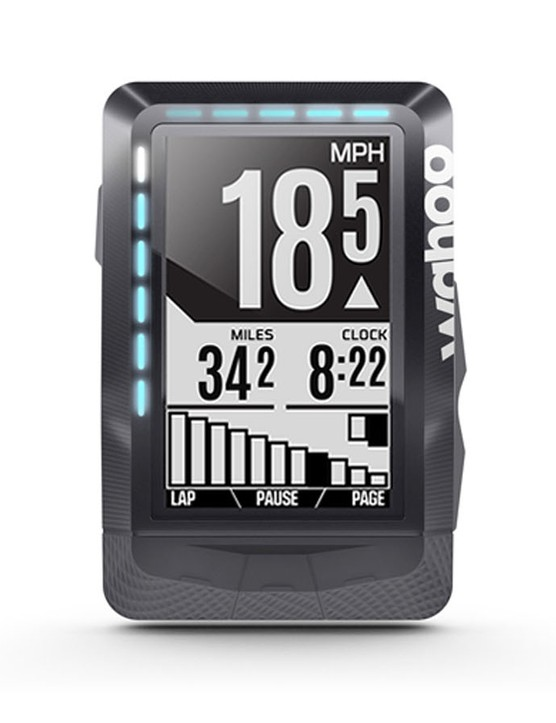Wahoo's Elemnt can connect to Campy EPS via ANT+ and display gear position and battery life