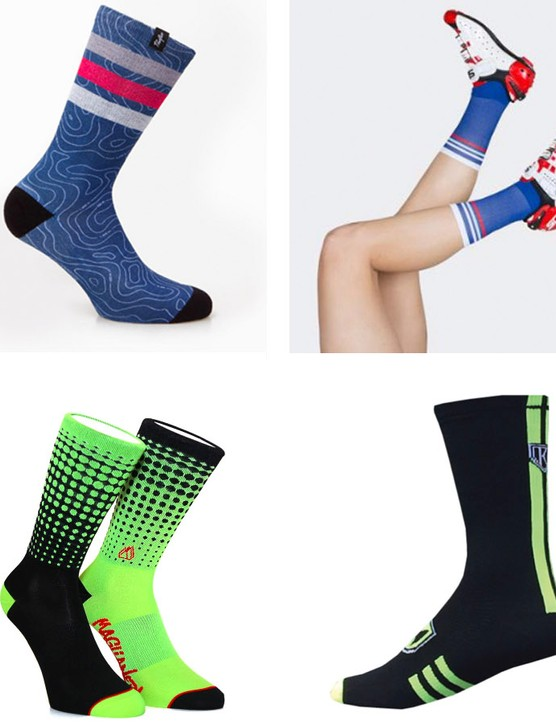 A small sample of the socks on offer