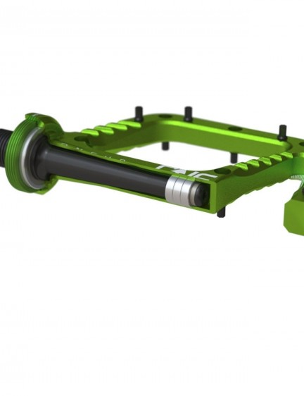 Both come with a chromoly stainless axle and four sealed cartridge bearings