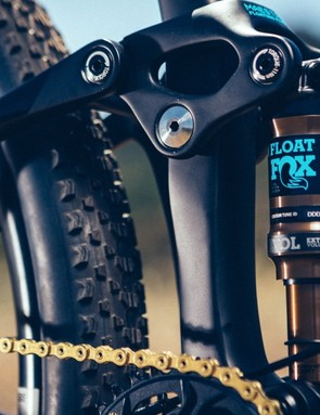 Giant has dropped the rear travel from 100mm to 90mm