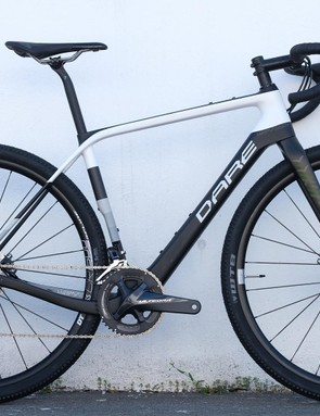 Dare's GFX sporting 45mm tyres, flared handlebars and 'cross bike gearing