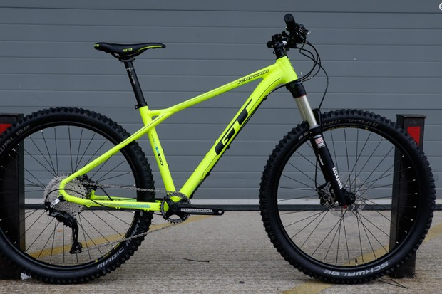 The 2017 GT Zaskar Elite 27.5 retails for £1,299
