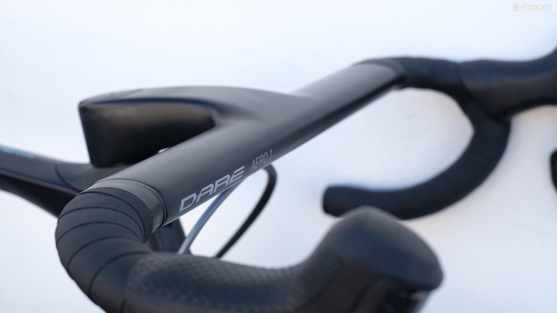 Dare's own aero bar is available as an upgrade for almost all of its road bikes