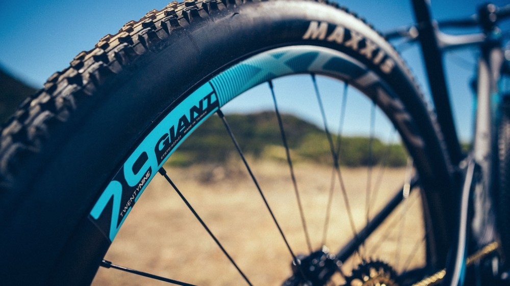 Giant was a staunch supporter of 27.5in wheels being the best wheel size for XC. But progress with geometry and technology seems to have swayed the brand's opinion