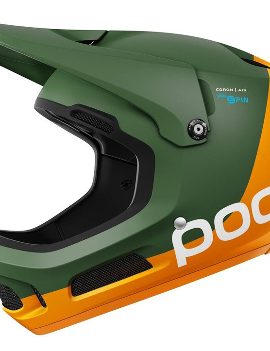 The new Coron Air gets POC's new SPIN padding