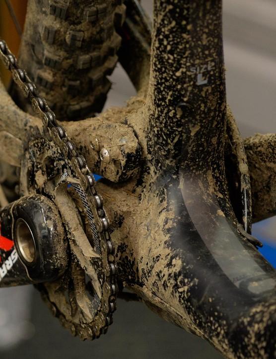 Please clean your bike!