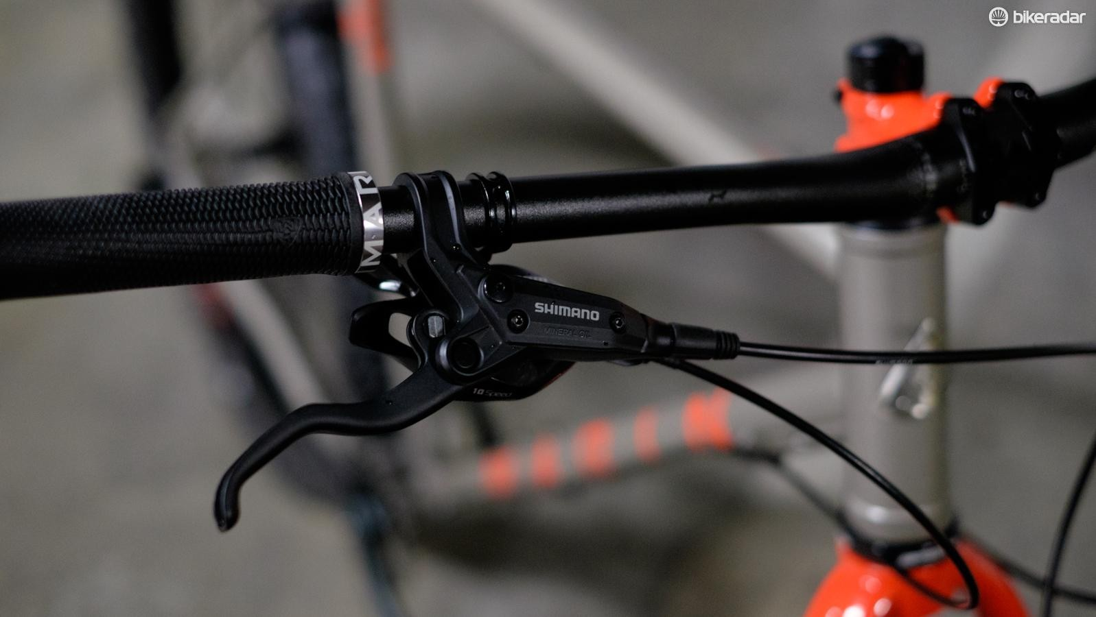 For 2017, the Pine Mountain has a 780mm handlebar and a 60mm stem