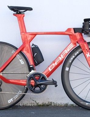 Dare's TT bike, the TSR, is soon to be available with disc brakes