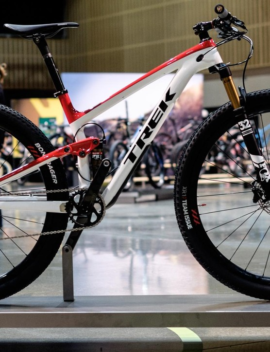 Trek's top of the range Top Fuel 9.9 Race Shop Limited retails for a cool £7,000