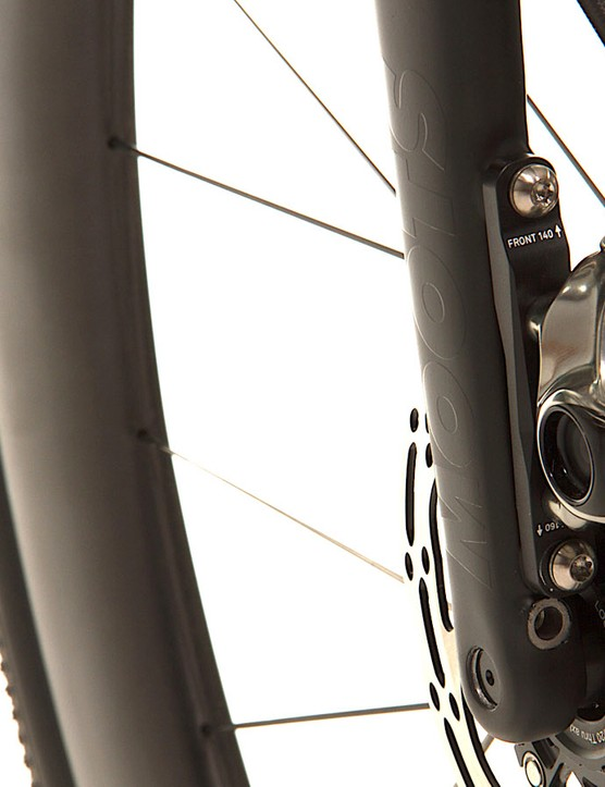 The Routt RSL also gets a new carbon gravel/CX fork
